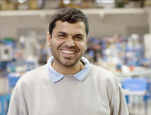 Ahmad aus Syrien