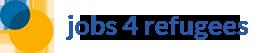 jobs 4 refugees Sticky Logo
